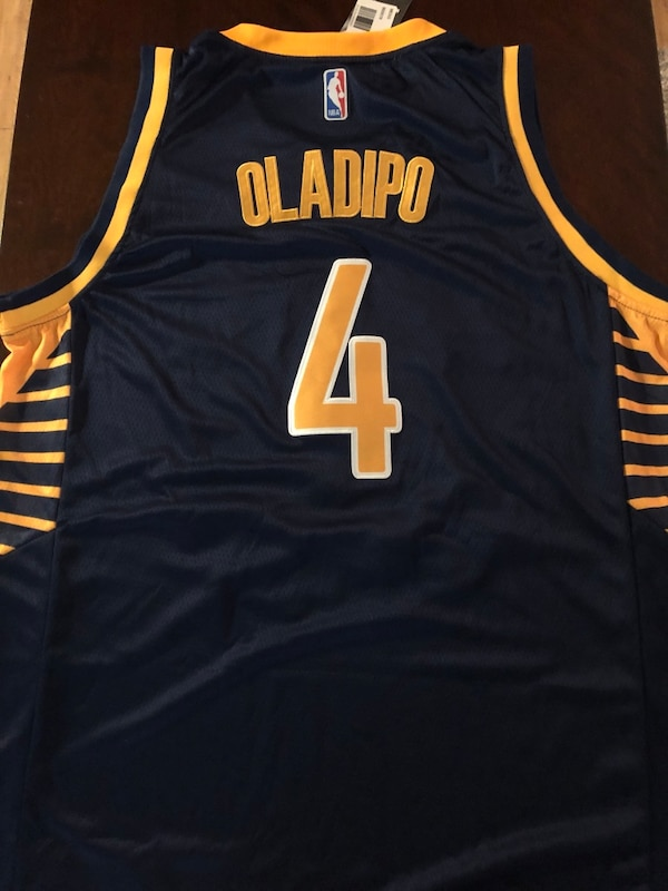 huge selection of 6d2b9 489f0 Victor Oladipo Indiana Pacers Jersey | New Men's XL