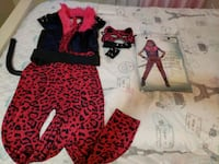 New Girl's pink leopard costume size Large 12-14  Ashburn, 20147