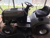 black and gray ride on mower Wetumpka, 36092