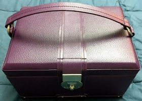 Wolf Jewelry Case- Multi Level, Multiple Drawers and Compartments