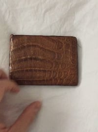 Crocodile bi-fold wallet Fairfax, 22030
