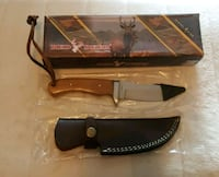 Red Deer Hunting Knife w/ Leather Sheath Leesburg, 34748