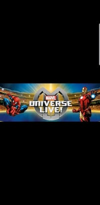 MARVEL UNIVERSE LIVE SHOW THIS WEEKEND FRONT ROW!! Scarborough, M1R