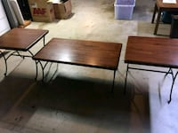 Matching coffee table and 2 end tables Chino