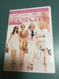 DVD Sex and The City the movie..
