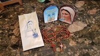 Medugorje Rosary x2 and Mary Picture Naperville, 60540