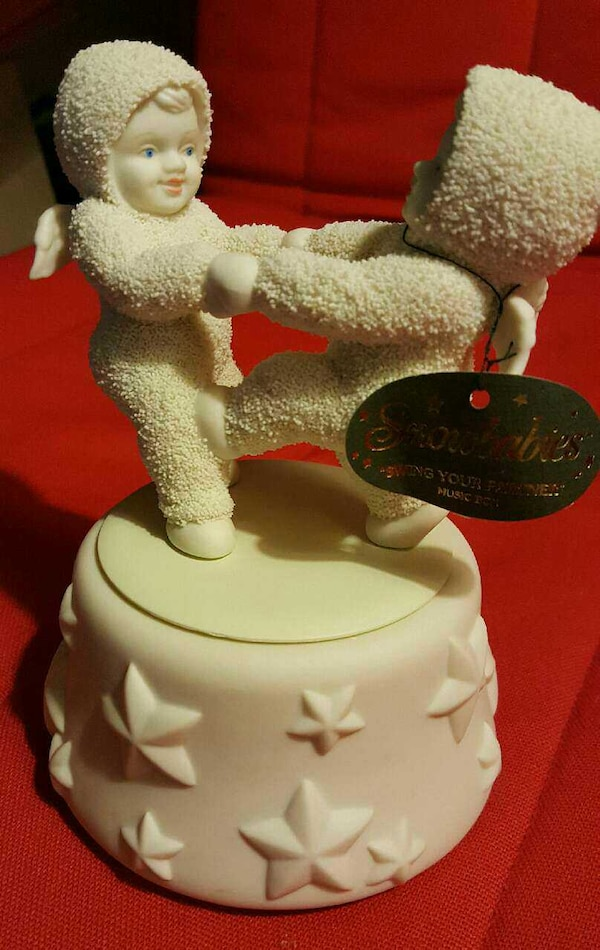 "Used SNOWBABIES ""SWING YOUR PARTNER"" MUSIC BOX For Sale In"