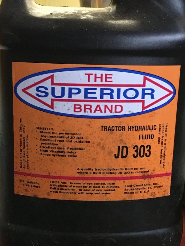 The superior brand tractor hydraulic fluid