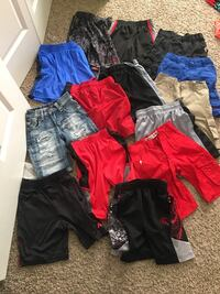 14 pairs of size 4/5 shorts