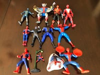 AMAZING SPIDERMAN ACTION FIGURES AND VEHICLES Whitby