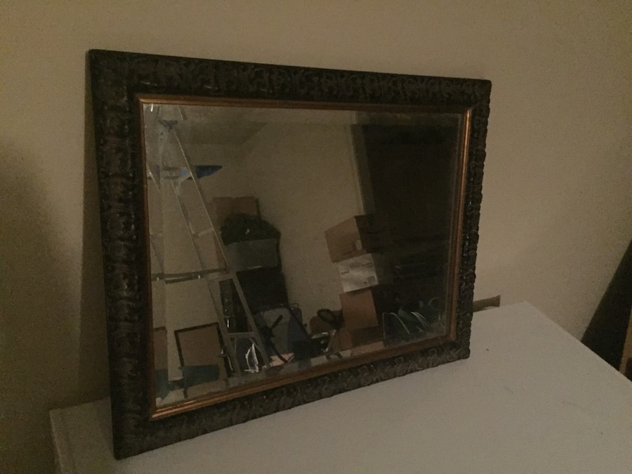 Used Antique Beveled Glass Mirror For Sale In Jackson   Letgo