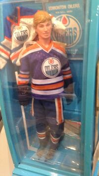 Gretzkey doll am trading card s with rookie year oiler symbol card  1979