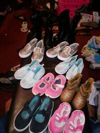 assorted pairs of shoes and sandals Edinburg, 78542