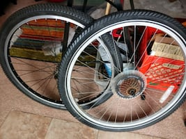 Used bicycle wheels 26""