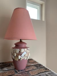 Pink sea shell lamp Port Coquitlam, V3B 8A7