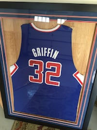 Blake Griffin Clippers signed jersey