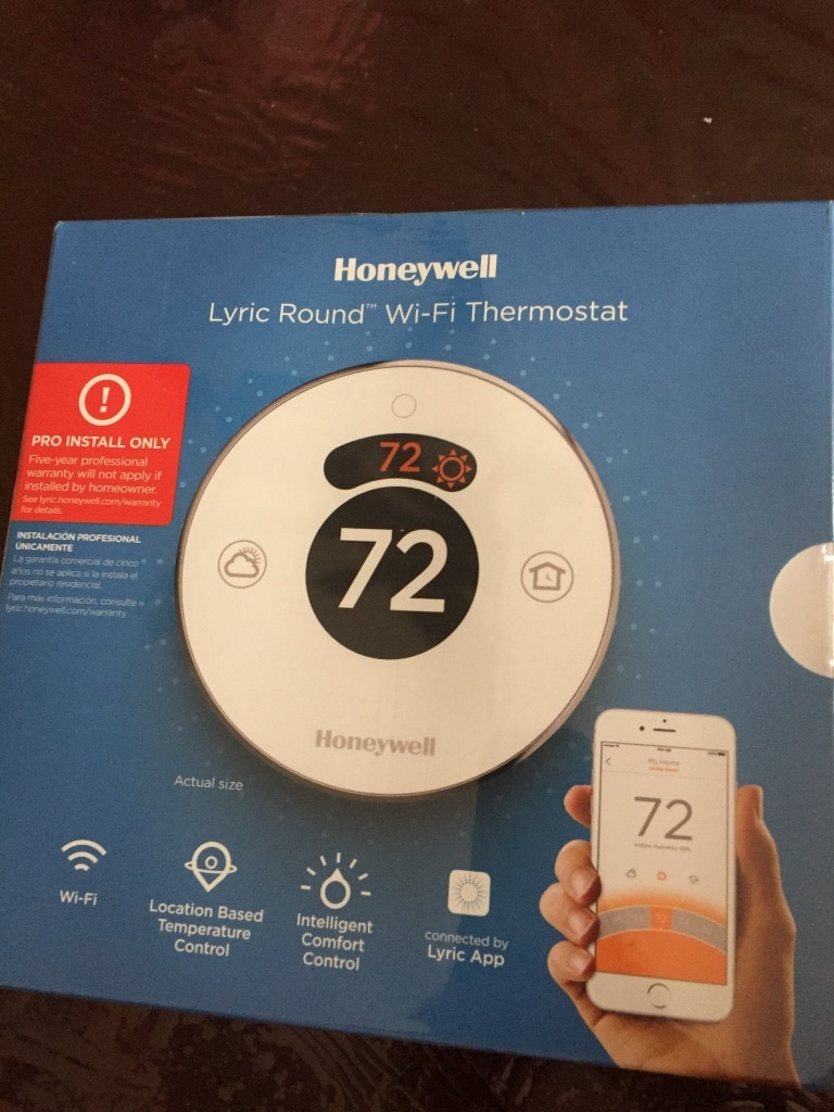 used honeywell lyric round wifi thermostat new sealed for sale in rh us letgo com