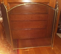 Brass Fire Place Screen with Handles Toronto