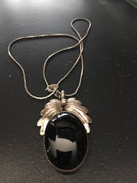 Sterling Silver Onyx  Necklace Albuquerque, 87112