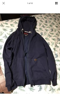 Riggs Workwear Wrangler Blue Fleece Jacket Size LARGE London, N6G 2Y8