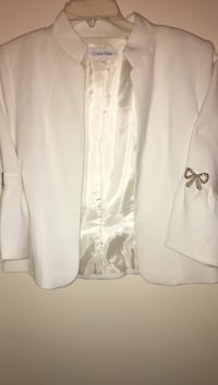 Off white jacket with bows on the sleeves  Bethesda, 20817