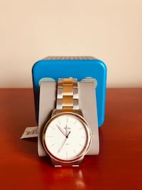 FOSSIL THE MINIMALIST THREE-HAND TWO-TONE STAINLESS STEEL WATCH BRAND NEW IN BOX  Toronto, M6C 2L7