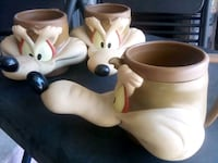wiley coyote mugs $5 or 3 for $10 West Covina, 91790
