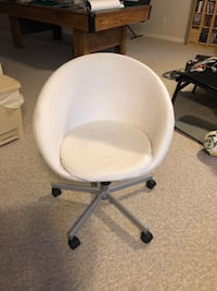 White IKEA Swivel Chair