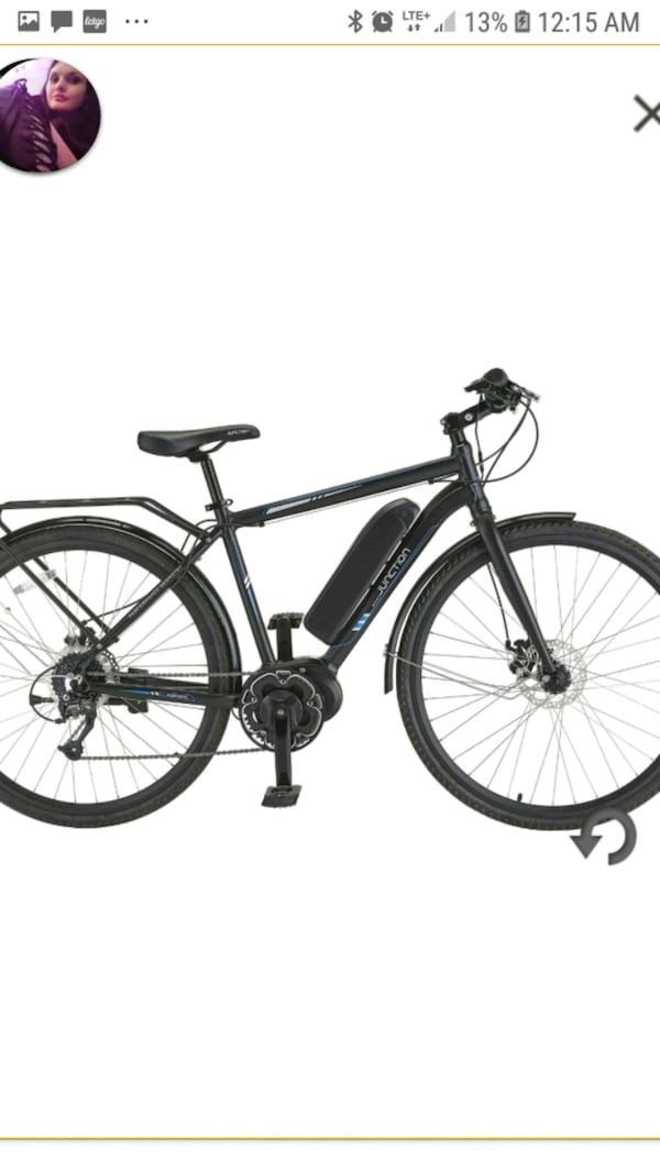 Junction rapid e  700c ebike 1300  i paid 1800 and rode for 3 hrs 8d0245c3-b7e7-46bf-a6ab-683ed56b2ff9