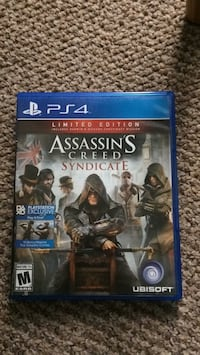 Assassin's Creed Syndicate PS4 game case Lichfield, WS14 9XS