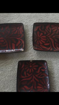 American Atelier Daisy Red Dishes Set Martinsburg, 25401