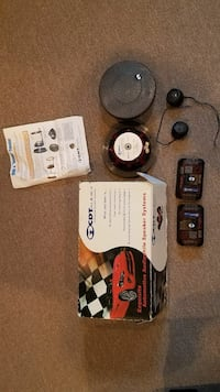 """CDT HD-62 6.5"""" Component speaker system Columbia"""