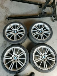 2010 bmw 335 staggered rims Markham, L6B 1B6