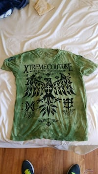 green Xtreme Couture crew-neck t-shirt