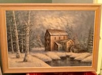 Oil painting - W. Conway Mississauga, L5N 1X2