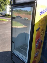 black and yellow commercial refrigerator Central, 29630