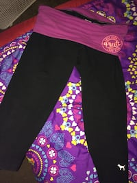 black and pink Pink by Victoria's Secret pants Barberton, 44203