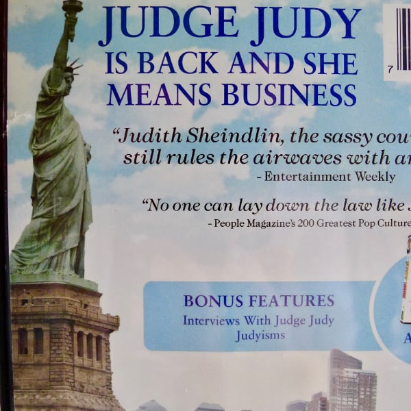 "The RARE - JUDGE JUDY ""Second To None"" Dvd ( Out of Print) 46ba3024-7dd7-4316-9f51-1d663aad640f"