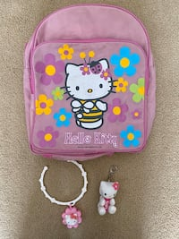 Backpack, Necklace & key chain