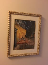 "Framed Van Gogh ""Cafe Terrace at Night"" Print Toronto, M1P 5H7"