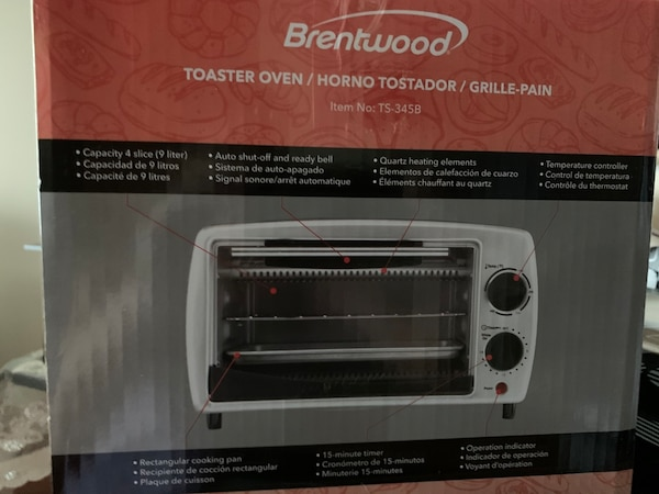 800 w Toaster oven 4f89acc6-af99-4d1f-b44d-1b16bbb375c1