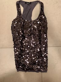 black and gray floral tank top Calgary, T2Y 4X2