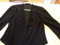 black button-up long-sleeved shirt Palm Springs, 92262