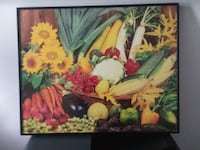 GLASS FRUIT FRAME WALL PICTURE Middletown, 10940
