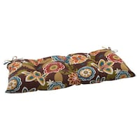 NEW Pillow Perfect Outdoor Annie Wicker Love seat cushion. Davis