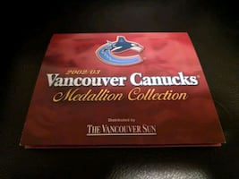 Vancouver Canucks Medallion Collection
