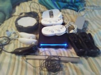 BLK Nintendo Wii Game System With Accessories/Game Port St. Lucie