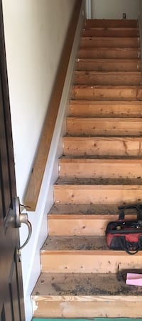 13' Oak Stair Railing Calhoun, 30701