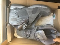 pair of gray Nike basketball shoes in box Lawrenceville, 30044