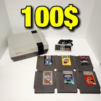 NES with 6 games & controller all cables included Los Angeles, 90032